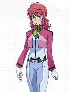 Feldt Grace wig from Mobile Suit Gundam 00