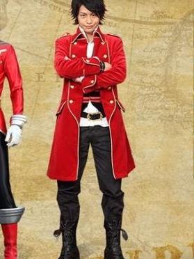 Captain Marvelous wig from Kaizoku Sentai Gokaiger