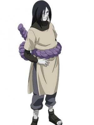 Orochimaru peruca from Naruto