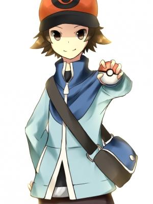 Hilbert wig from Pokemon