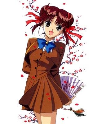 Miaka Yuki wig from Fushigi Yugi