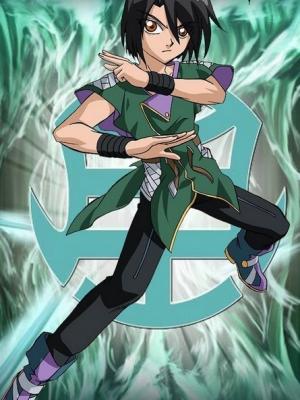 Shun Kazami peluca de Bakugan Battle Brawlers