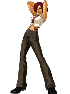 Vanessa peluca de The King of Fighters