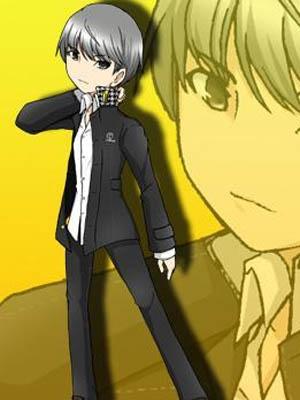 Soji Seta wig from Shin Megami Tensei: Persona 4