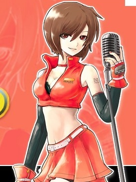 Meiko wig from Vocaloid