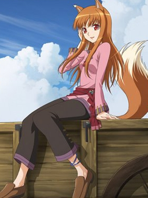 Holo wig from Spice and Wolf