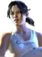 Chell wig from Portal