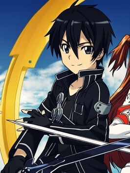 Kazuto Kirigaya wig from Sword Art Online