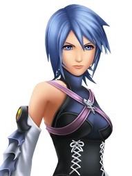 Aqua wig from Kingdom Hearts
