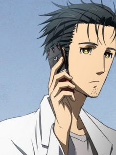 Rintaro Okabe wig from Steins;Gate