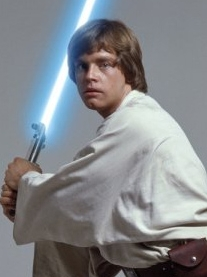 Luke Skywalker peluca de Star Wars