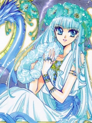 Umi Ryuuzaki wig from Magic Knight Rayearth