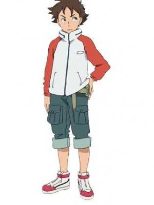 Renton Thurston парик from Eureka 7