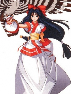 Nakoruru wig from Samurai Shodown