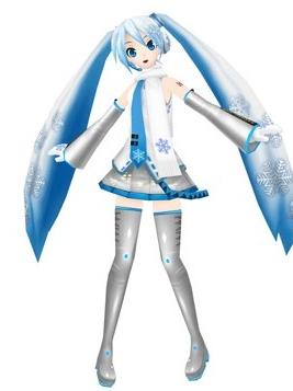 Miku Hatsune Perücke von Vocaloid