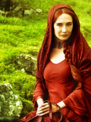 Melisandre of Asshai wig from Game of Thrones