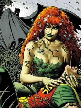 Poison Ivy wig from Batman