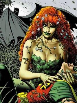 Hiedra Venenosa peluca de Batman