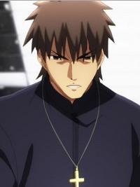 Kirei Kotomine wig from Fate Zero