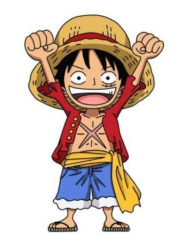 Monkey D Luffy wig from One Piece