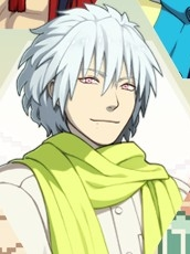 Clear wig from DRAMAtical Murder