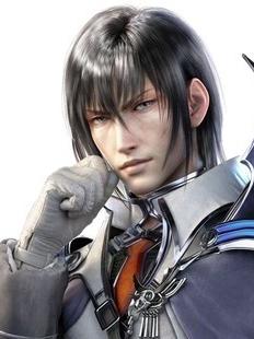 Cid Raines wig from Final Fantasy XIII