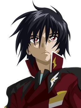 Shinn Asuka wig from Gundam Seed