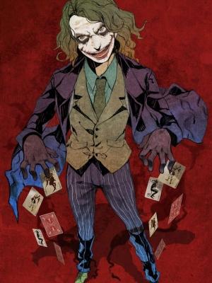 Joker wig from Batman
