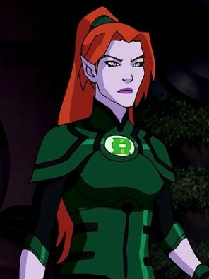 Laira wig from Green Lantern