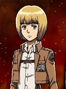 Armin Arlelt wig from Attack On Titan