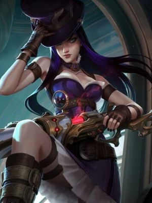 Caitlyn the Sheriff of Piltover wig from League of Legends