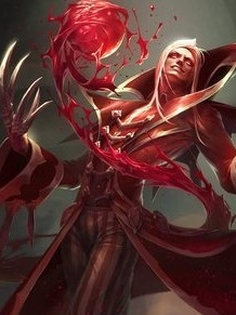 Vladimir the Crimson Reaper wig from League of Legends