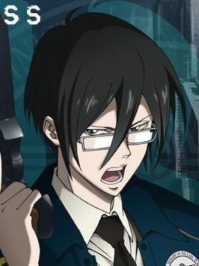 Nobuchika Ginoza wig from Psycho-Pass