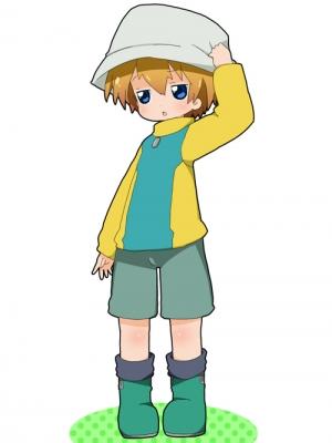 Takeru Takaishi wig from Digimon Adventure