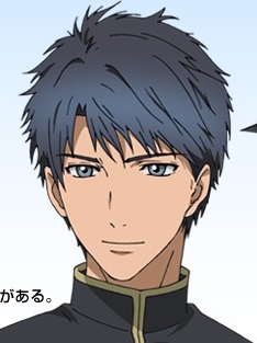 Sosuke Inukawa wig from Hakkenden: Eight Dogs of the East
