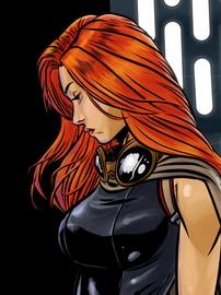 Mara Jade wig from Star Wars