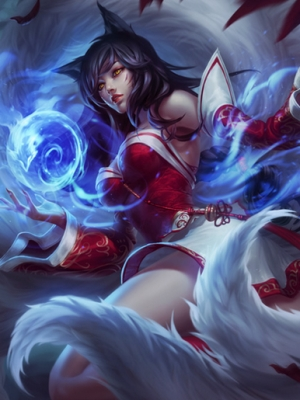 Ahri the Nine-Tailed Fox wig from League of Legends