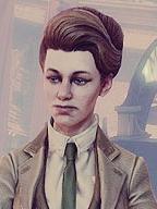 Rosalind Lutece peluca de BioShock Infinite