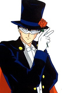 Tuxedo Mask wig from Sailor Moon