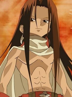 Hao Asakura wig from Shaman King
