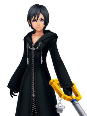 Xion wig from Kingdom Hearts