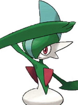 Gallade wig from Pokemon
