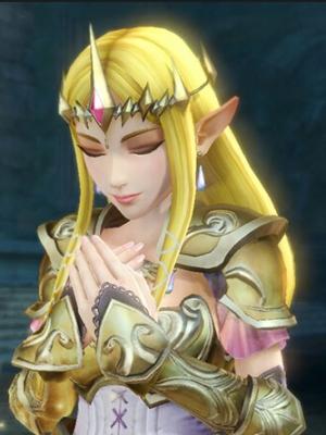 Princess Zelda wig from The Legend of Zelda