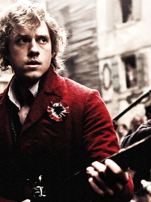 Enjolras wig from Les Miserables