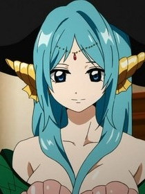 Yamuraiha wig from Magi: The Labyrinth of Magic