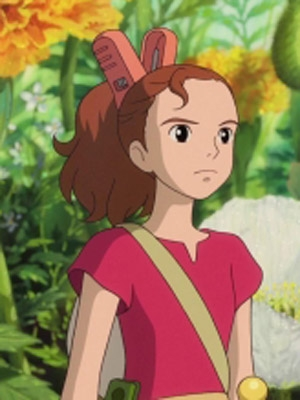 Arrietty wig from Arrietty