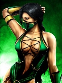 Jade wig from Mortal Kombat