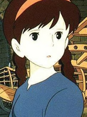 Princess Sheeta wig from Castle in the Sky