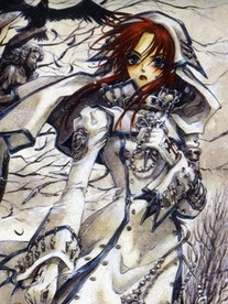 Kate Scott wig from Trinity Blood