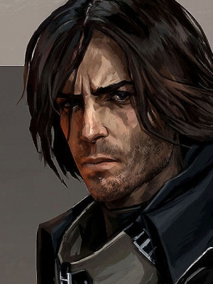Corvo Attano wig from Dishonored
